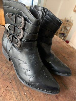 Cowboy Boots echtes Leder