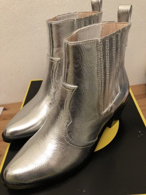 Cowboy Boots in Silber