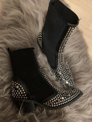 Cowboy Boots Stiefelette Nieten