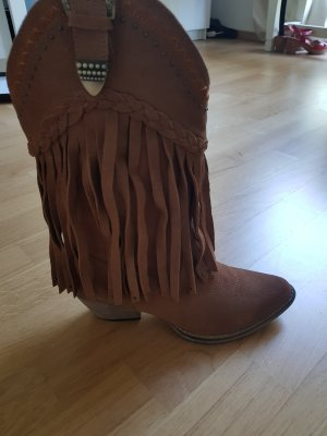Desert Boots cognac-coloured