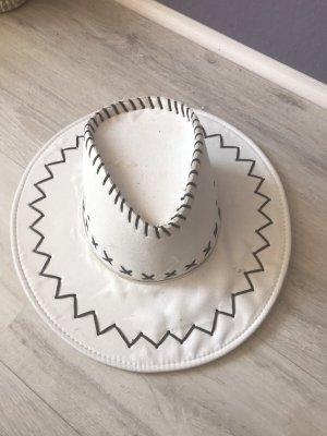 Chapeau de cow-boy gris clair-beige clair