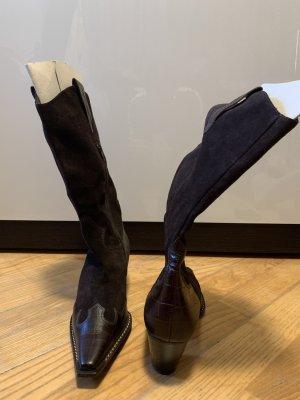 Paul Green Stivale western marrone-nero