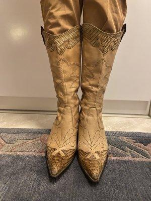 Western Laarzen beige
