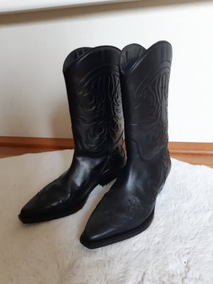 Mango Slip-on laarzen zwart