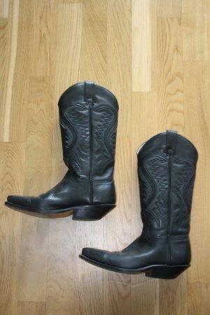 Cowboy Stiefel Gr. 38 von Cherokee Leder
