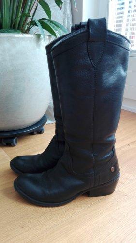 Daniel Hechter Boots western noir