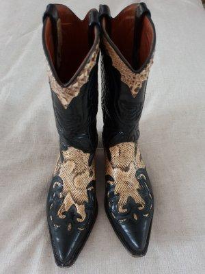 Primeboots Chukka boot noir cuir