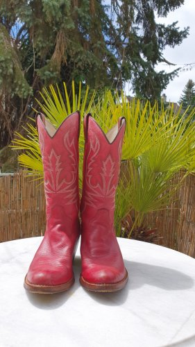 Tony Mora Desert Boots carmine
