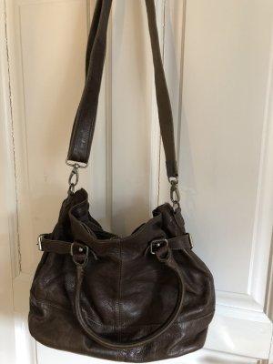 Cowboysbag Crossbody bag black brown leather