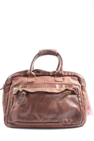 Cowboysbag Bolsa de hombro marrón look casual