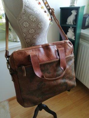 Cowboysbag Carry Bag brown leather