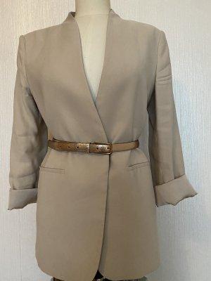 Cowboysbelt Cinturón de cuero color bronce