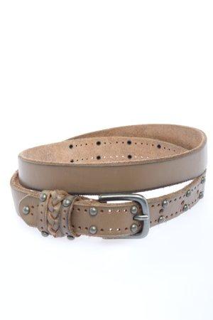 Cowboysbelt Cintura di pelle marrone stile casual