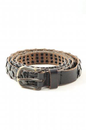 Cowboysbelt Leather Belt brown casual look