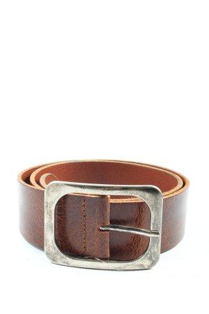 Cowboysbelt Leather Belt brown animal pattern casual look
