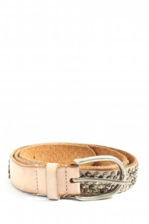 Cowboysbelt Studded Belt cream business style