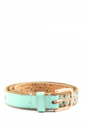 Cowboysbelt Studded Belt white-natural white casual look