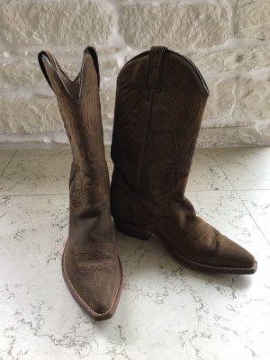 Tony Mora Botas estilo vaquero marrón claro-marrón