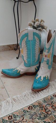 Sendra Buty w stylu western Wielokolorowy
