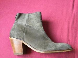Marc O'Polo Boots western brun sable-gris brun daim
