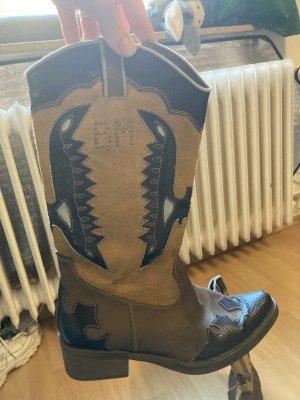 BM Western Boots multicolored