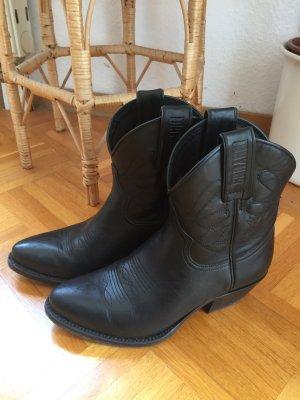 Mayura Boots western noir cuir