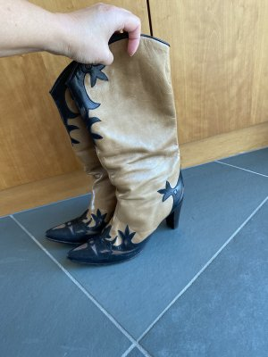 L'Autre Chose Western Boots multicolored