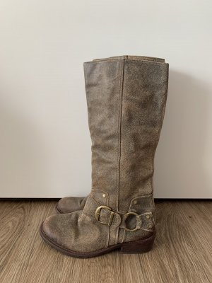 Cowboystiefel Leder Used Look Buffalo 37