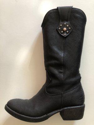 Dei Colli Buty w stylu western czarny