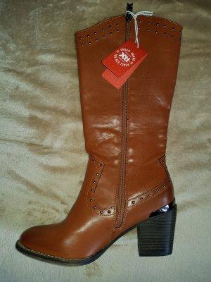 Botas estilo vaquero marrón claro