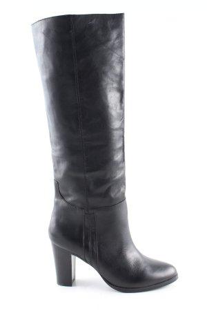 Cox Absatz Stiefel schwarz Casual-Look