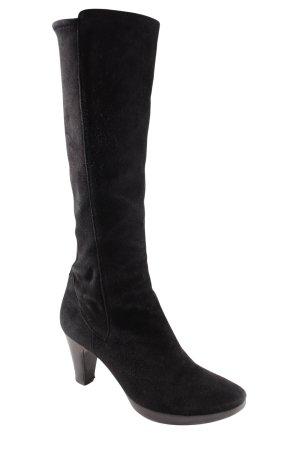 Cox Absatz Stiefel schwarz schlichter Stil
