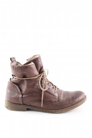 Cox Ankle Boots braun Business-Look