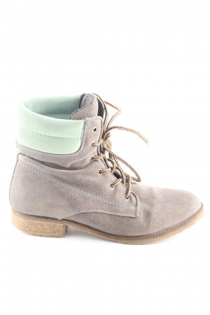 Cox Ankle Boots silberfarben-türkis Casual-Look