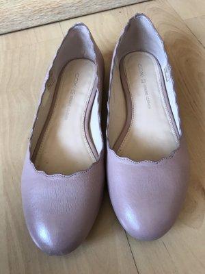 Cox Foldable Ballet Flats pink