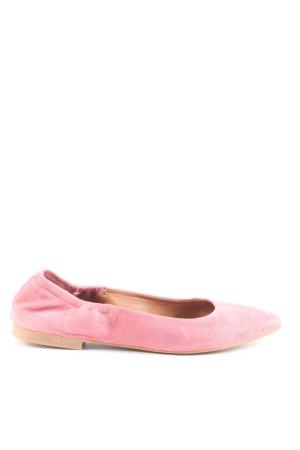 Cox Ballerinas with Toecap pink casual look