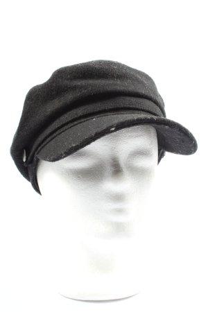 Cox Cappello da panettiere nero stile casual