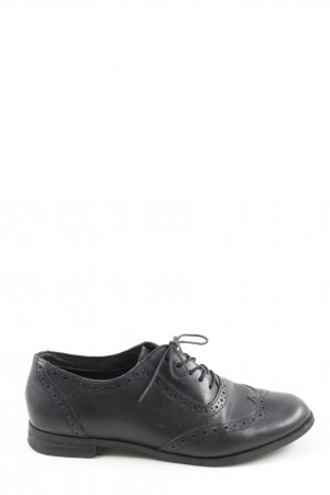 Cox Wingtip Shoes black business style