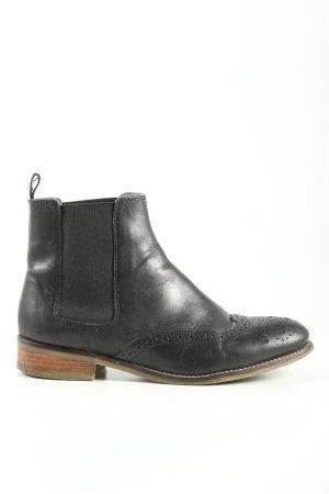 Cox Chelsea Boots schwarz Business-Look