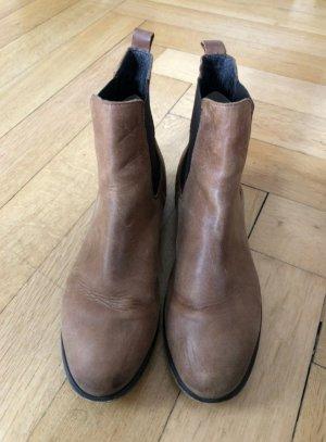 COX Chelsea Boots/Stiefeletten aus Leder, Gr. 40