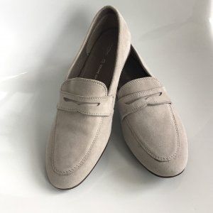 Cox Slip-on Shoes light grey leather