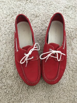 Cox Slip-on Shoes red leather