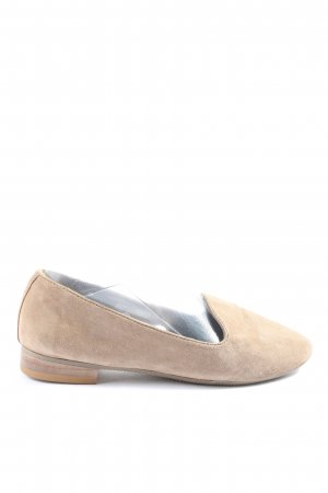 Cox faltbare Ballerinas wollweiß Casual-Look