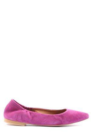 Cox faltbare Ballerinas pink Casual-Look