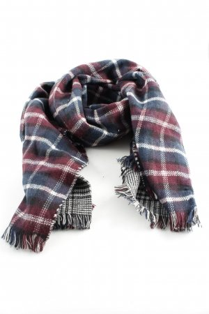 Cox Fringed Scarf check pattern casual look