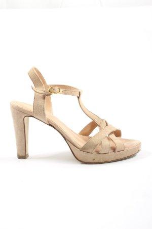 Cox High Heel Sandal natural white elegant