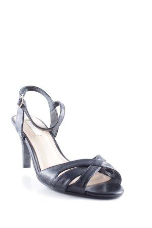 Cox High Heel Sandaletten schwarz Elegant