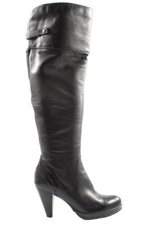 Cox Botas de tacón alto negro look casual
