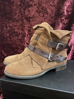 Cox Chukka boot brun foncé-brun