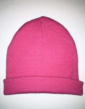 Cox Sombrero de punto magenta